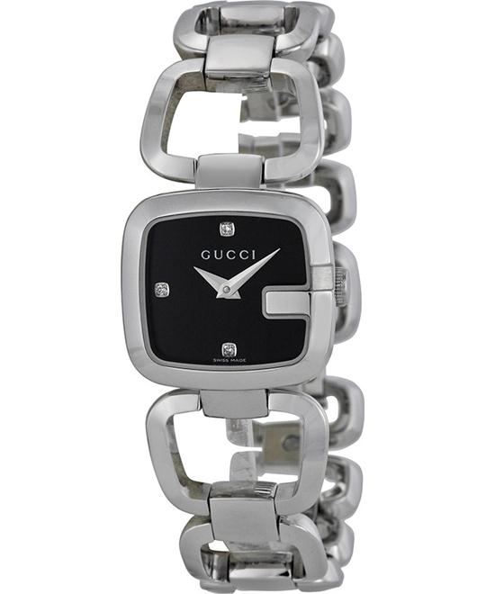 Gucci  G-Gucci  Women's Stainless Steel Watch 32mm