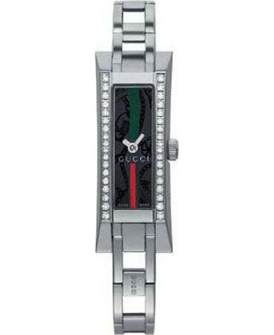Gucci G-Link Diamond Stainless Steel Watch 14mm