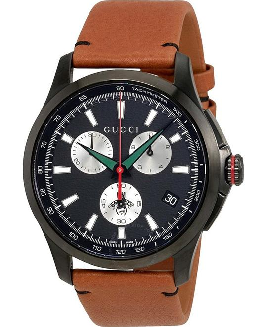 Gucci G-Timeless Men's Chronograph Watch 44mm