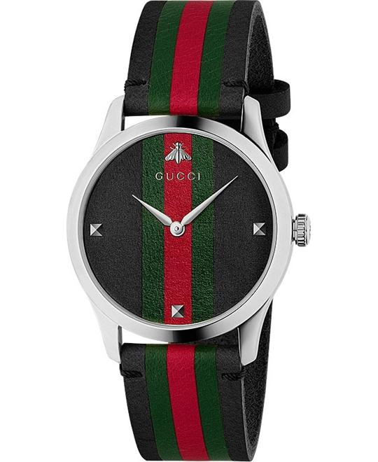 dong ho nam Gucci G-Timeless Men's Watch 38mm