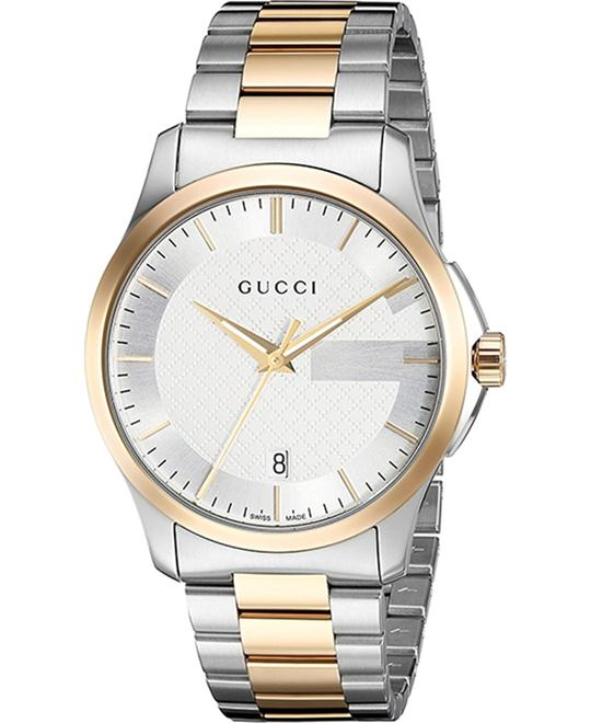 GUCCI G-Timeless Silver Men's Watch 38mm