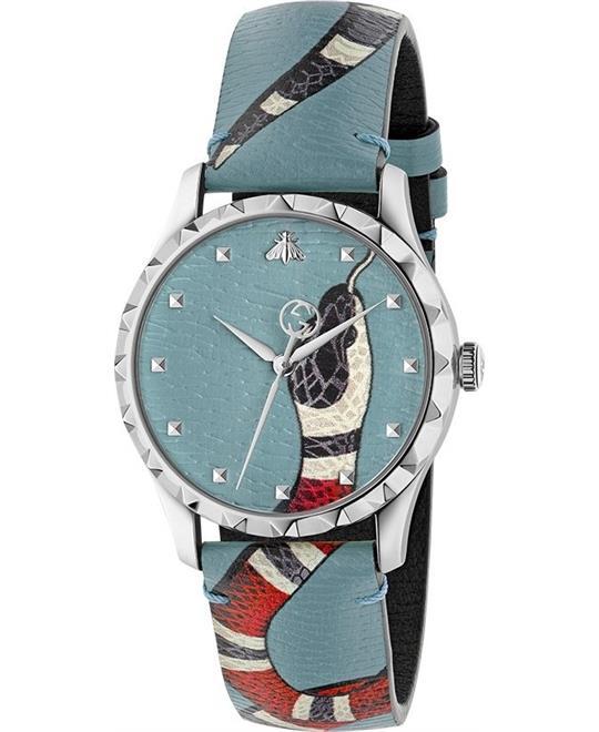 đồng hồ nữ Gucci G- Timeless Textured Men's Watch 38mm