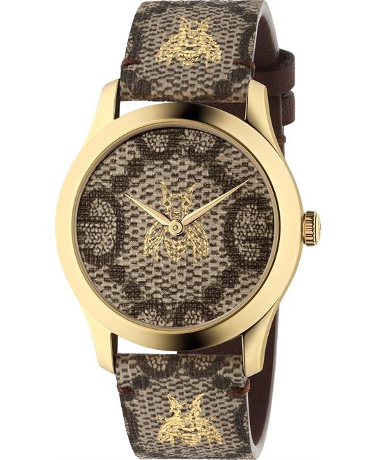 GUCCI 'G-TIMELESS' WATCH 38MM