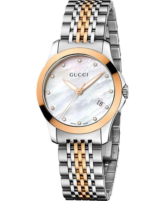 GUCCI G- Timeless  Diamond Ladies Watch 27mm