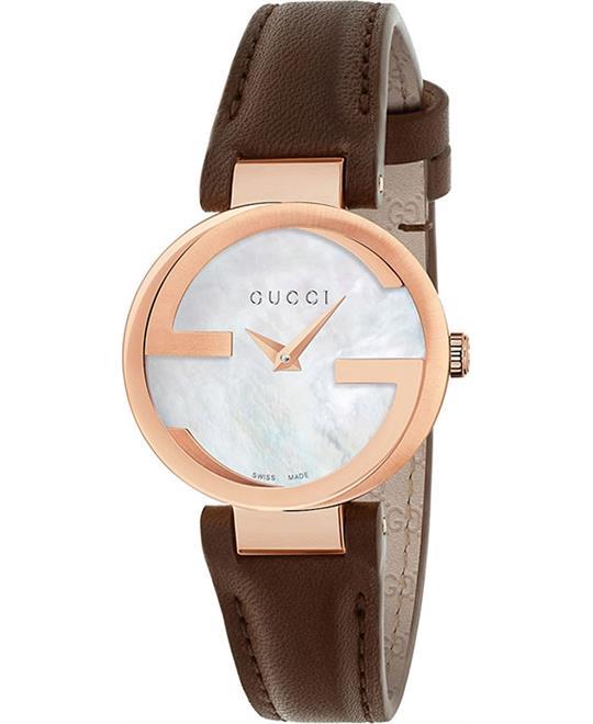 đồng hồ GUCCI Interlocking Automatic Ladies Watch 29mm