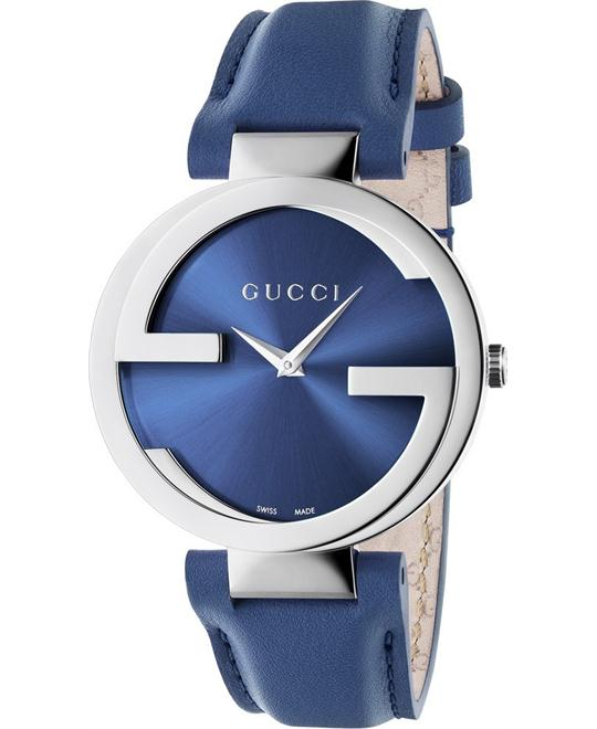 GUCCI Interlocking-G Blue  Watch 37mm