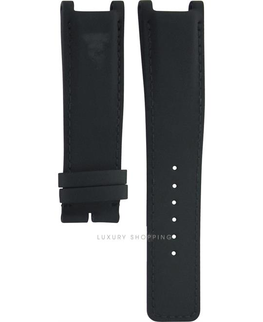 Gucci Interlocking Leather Black Original Strap 22/20