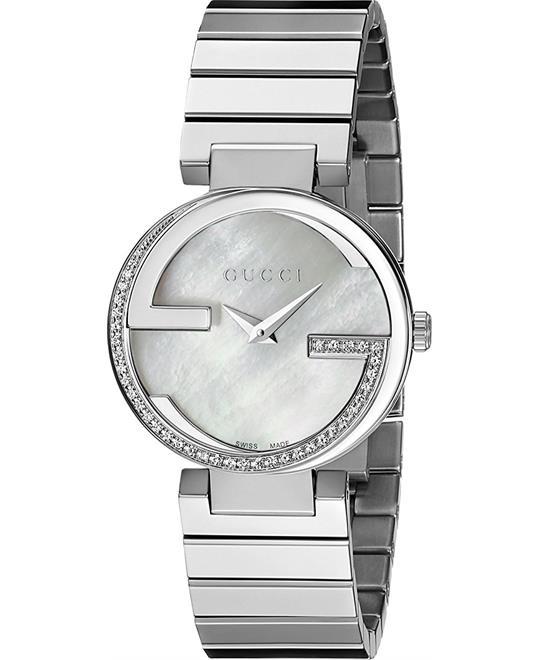 đồng hồ Gucci Interlocking Small Diamond Womens Watch 29mm