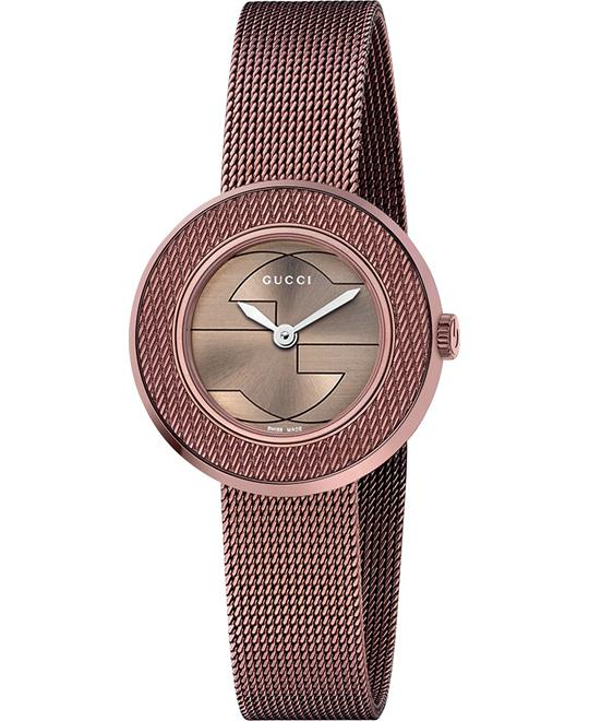Gucci  U - Play Collection Swiss Brown Watch 29mm