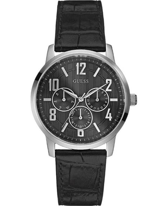 Guess Black Dial Men's Multifunction Watch 37mm