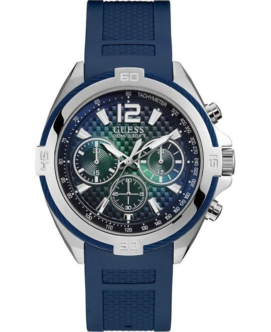 Guess Blue Multifunction Watch 46mm
