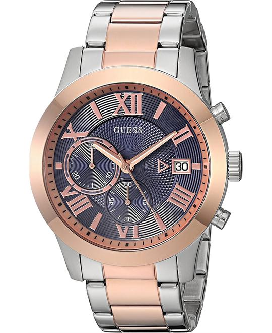 GUESS Bracelet Chronograph Stainless Steel watch 45mm