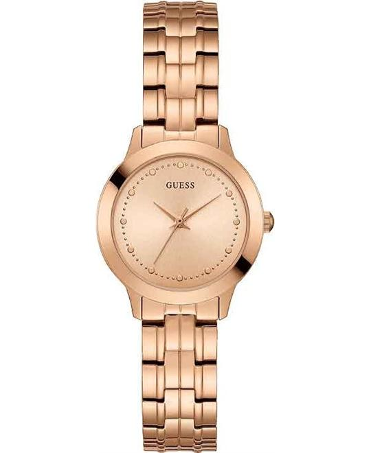 Guess Chelsea Rose Gold Analog Watch 31mm