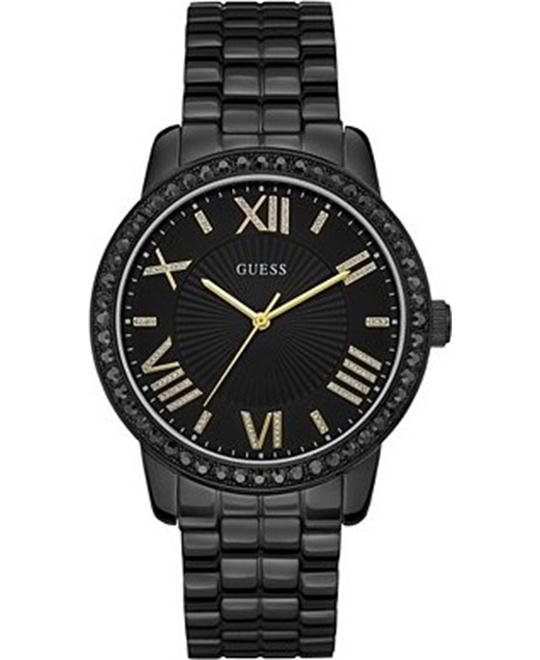 GUESS Classic Black & Gold-Tone Watch 42mm