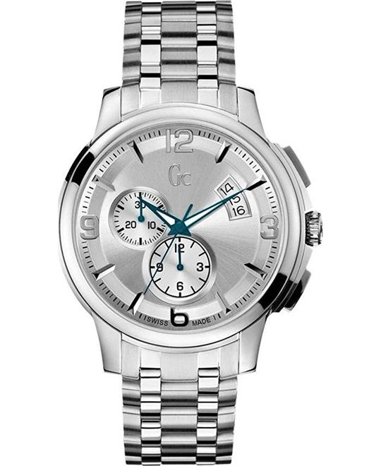 GUESS Classica Chronograph Watch 43mm