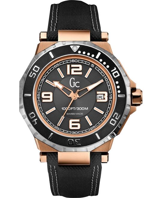 Guess Collection GC-3 Aquasport Blackand Watch 44mm