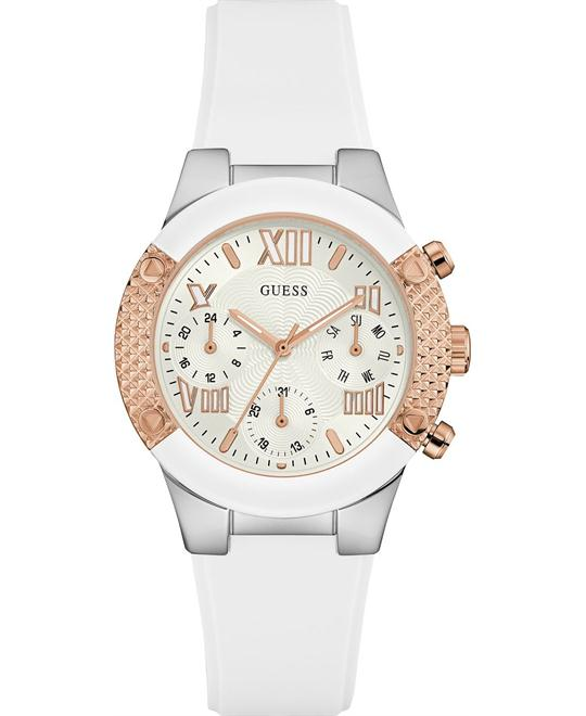 GUESS Dress Elegant,Multi-Function Silicone 38mm