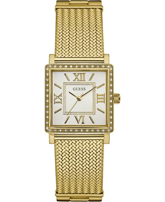 GUESS Dressy Gold-Tone Watch 28mm