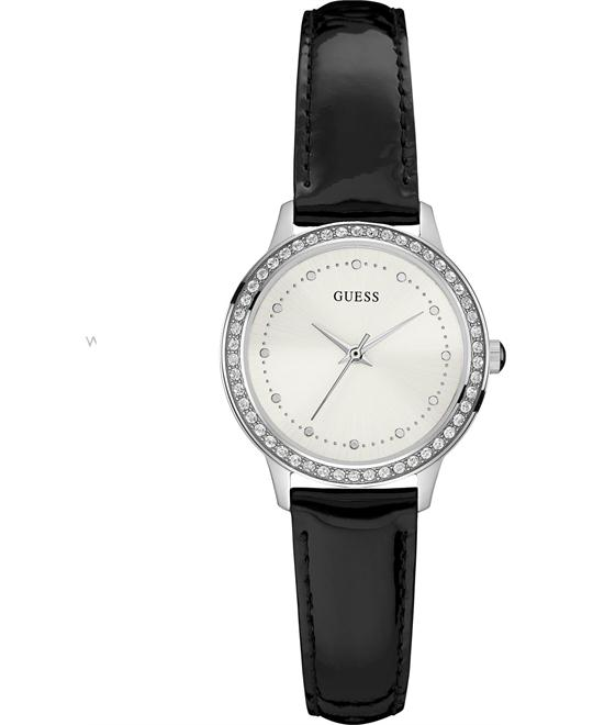 GUESS Dressy Silver-Tone Watch 30mm