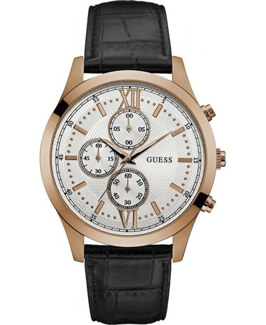 GUESS Dressy Stainless Steel Watch 44mm