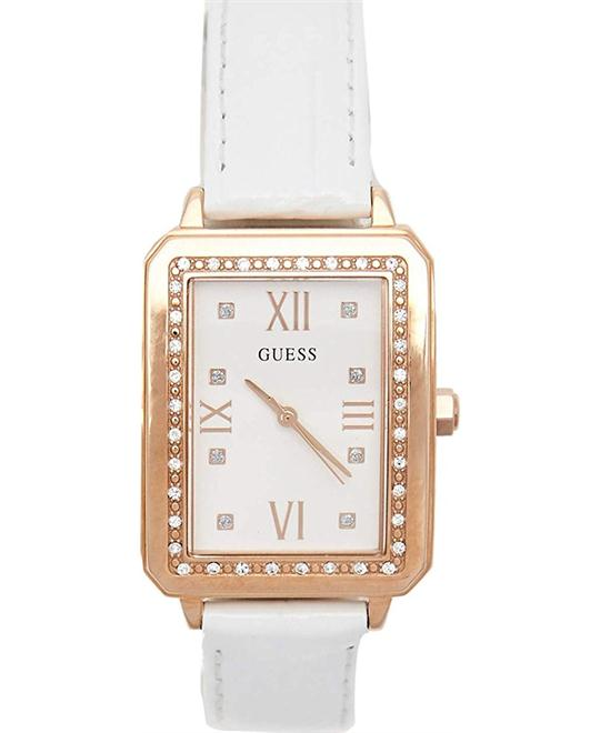 GUESS Factory Women's Rose Gold-Tone Watch 28mm