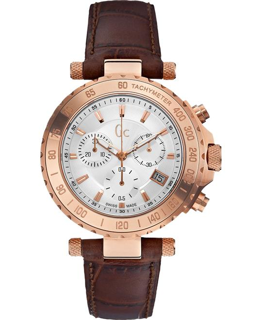 đồng hồ GUESS GC CHRONOGRAPH ROSE GOLD WATCH 41MM