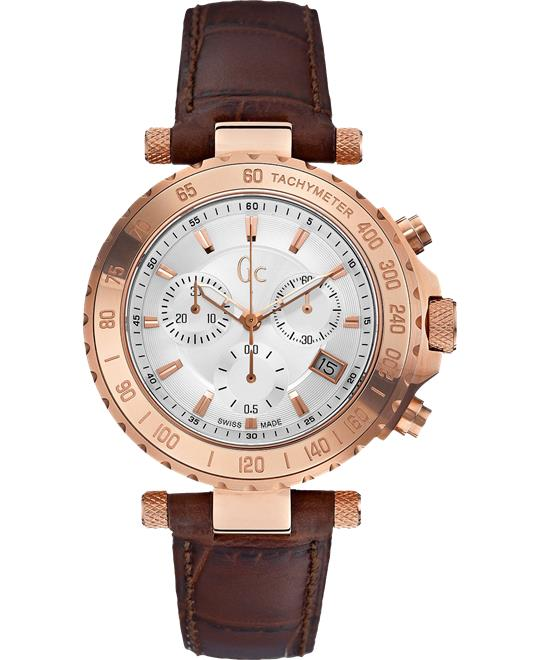 Guess GC Chronograph Rose Gold Watch 41mm