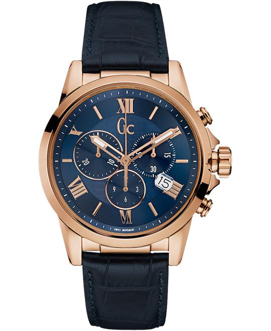 Guess GC Collection Esquire Blue Sapphire Watch 42mm