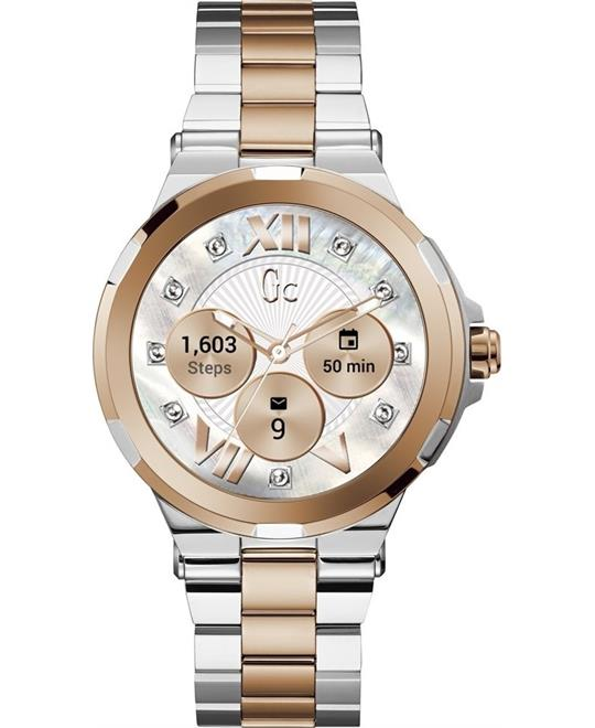 đồng hồ thông minh Guess Gc Connect Multi-Tone Smartwatch 44mm