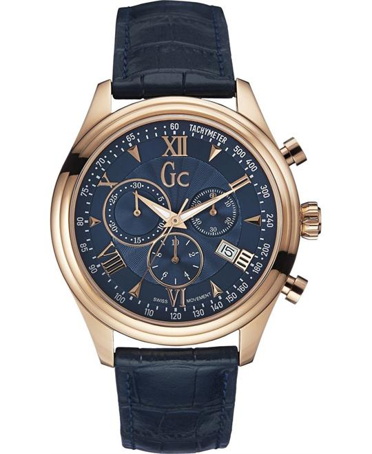 Guess Gc Smart Class Chronograph Watch 44mm