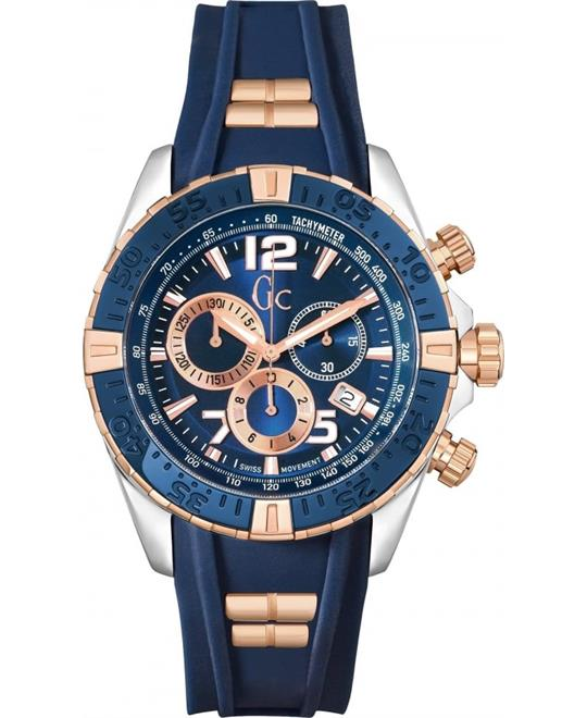 Guess Gc Sportracer Silicone Watch 45mm
