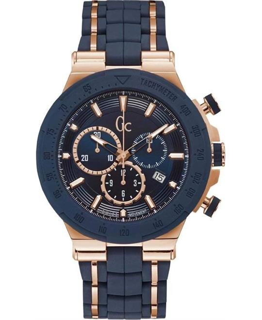 Guess Gc Structura Sport Silicone 45mm