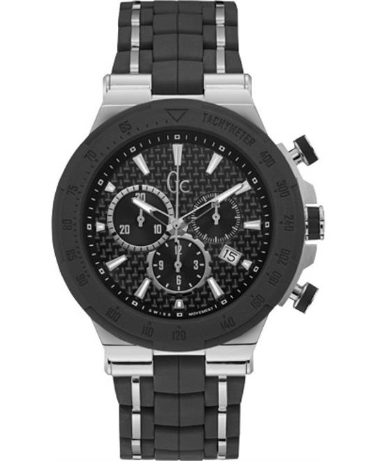 Guess Gc Structura Sport Silicone Watch 45mm