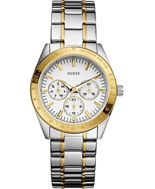 Guess GMT Tachymeter Ladies Watch 38mm