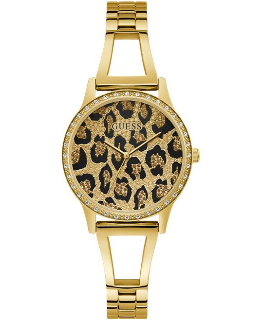 đồng hồ nữ Guess Gold Tone Case Gold Tone Watch 34mm