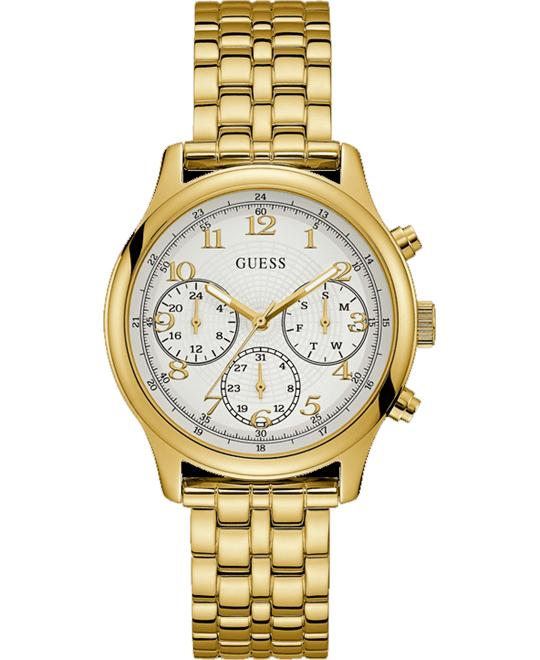 GUESS Iconic Gold-Tone Bracelet Watch 40mm