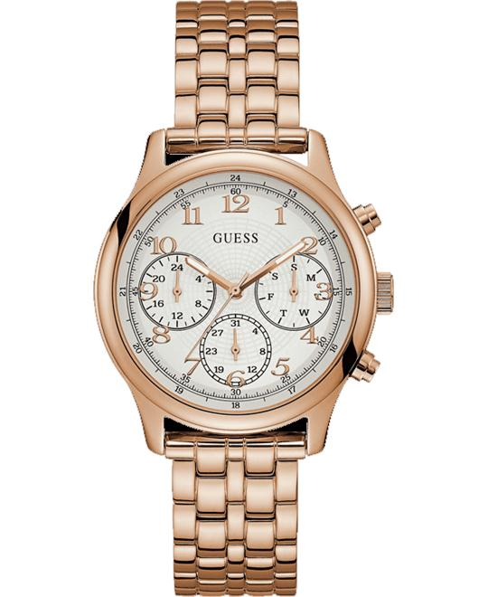 GUESS Iconic Rose Gold Bracelet Watch 40mm