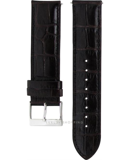 Guess Leather Brown Original Watch Strap 22mm
