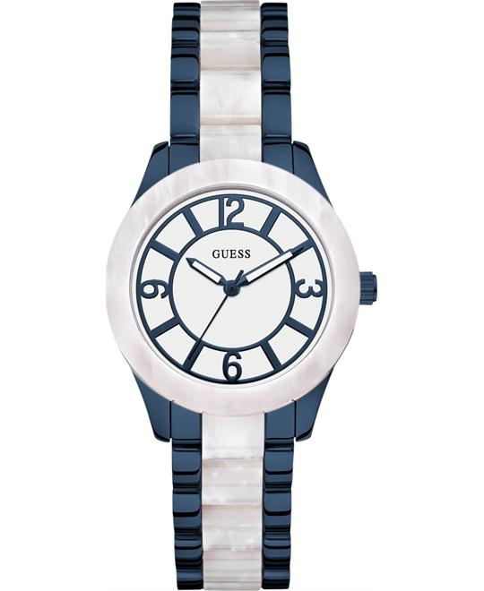 dong ho GUESS Marbellized Women's Watch 37mm
