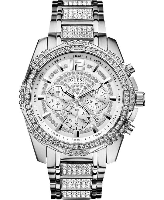 GUESS Glitz Active Chronograph Watch 47MM