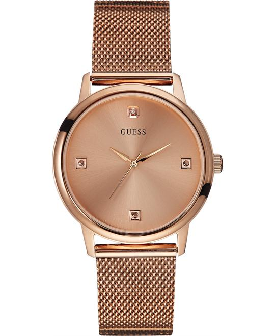 GUESS Diamond Mesh Men's Watch 40mm
