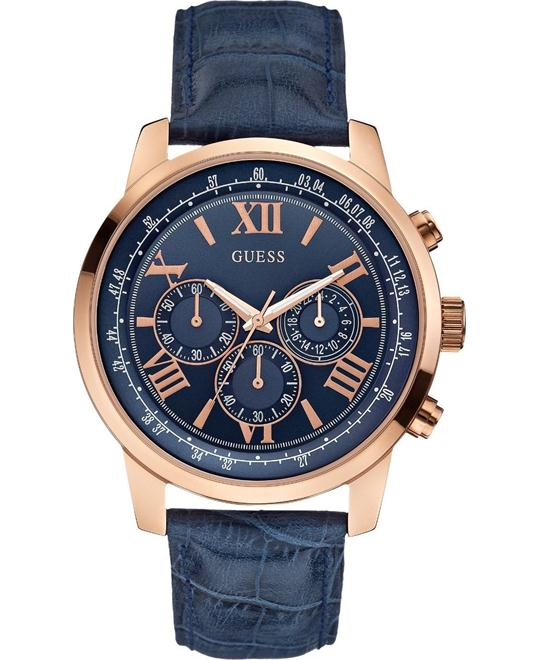 GUESS Iconic Blue Chronograph Watch 45mm