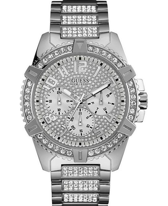 GUESS Men's Stainless Steel Watch 48mm