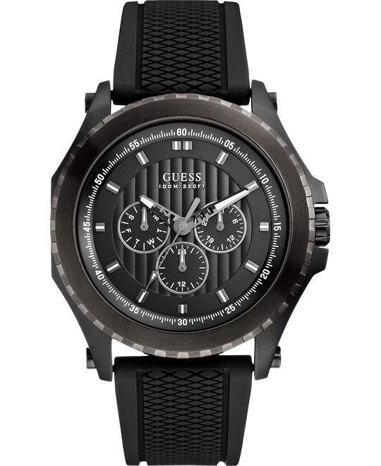 GUESS Variety Sporty Silicone Men's Watch 46mm
