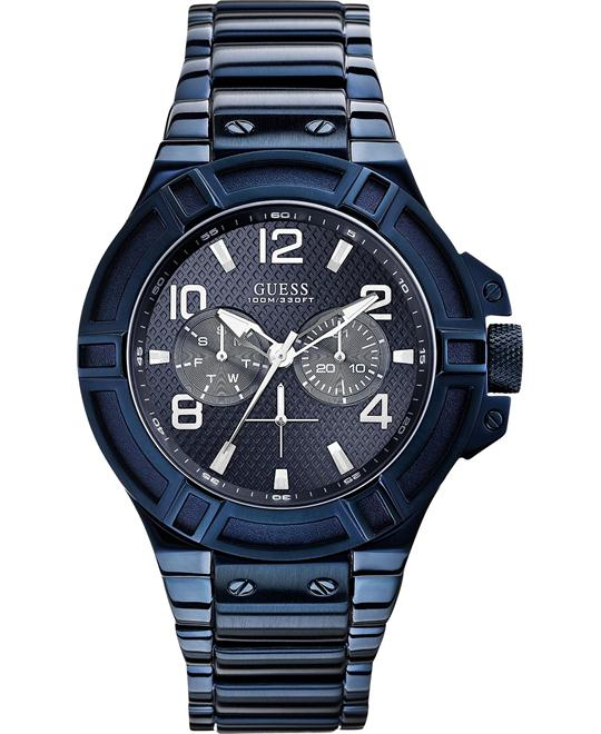 Guess Gunmetal Rigor Limited Watch 46mm