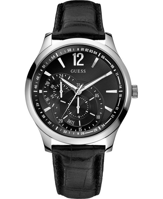 GUESS Contemporary Embossed Watch 44mm
