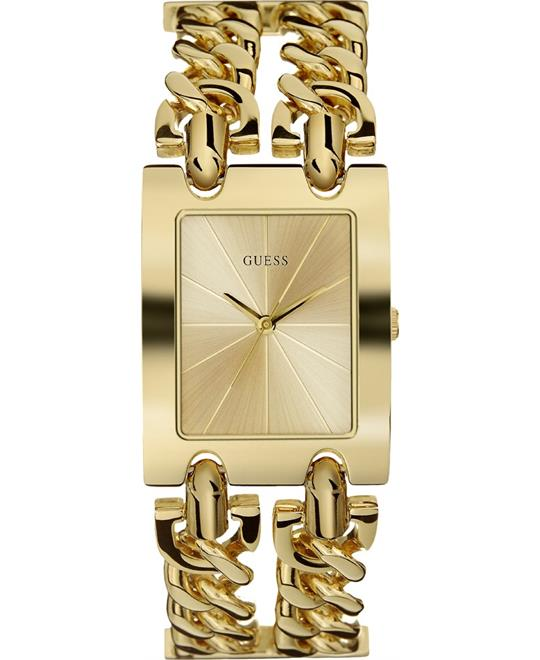 Guess Mod Quartz Champagne Watch 30mm