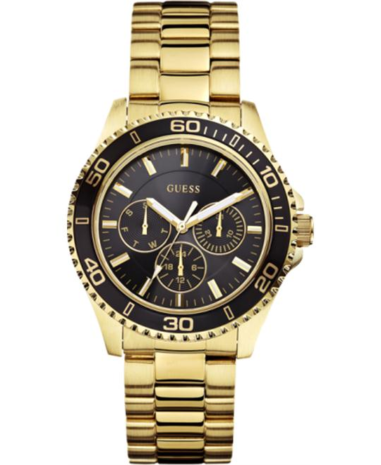 GUESS Multi-Function Gold-Tone Sport Women's Watch 40mm