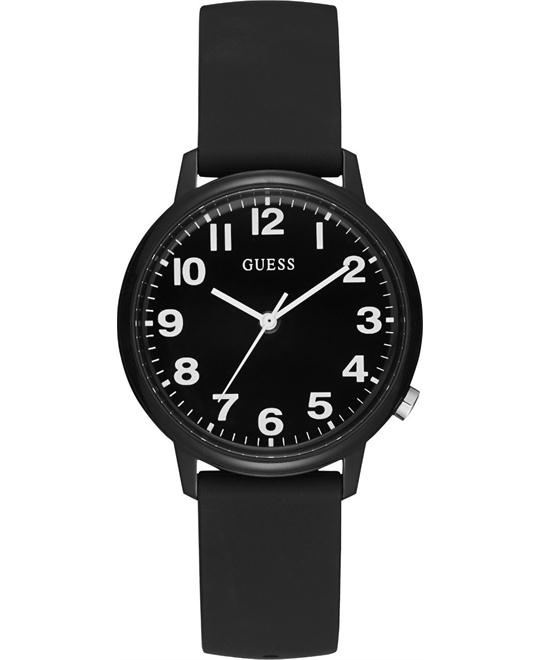 Guess Originals Black Silicone Watch 38mm