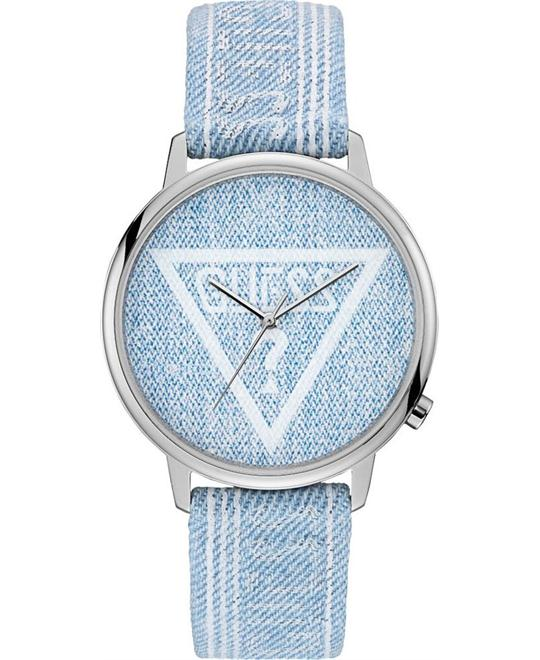 Guess Originals Denim Logo Analog Watch 42mm